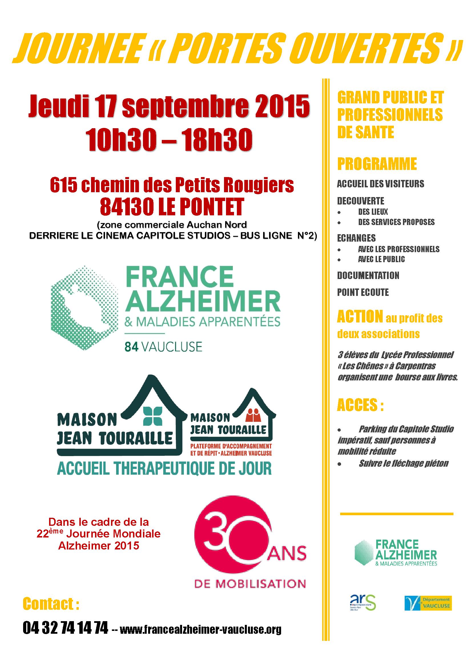 France Alzheimer Vaucluse